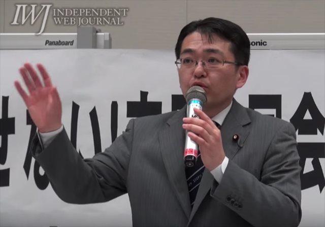 ▲日本共産党・畠山和也議員