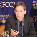160419_日本外国特派員協会主催 国連「表現の自由」特別報告者 ディビット・ケイ氏 記者会見