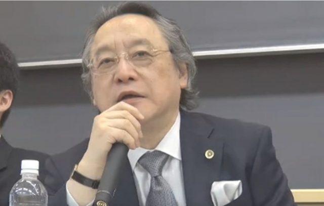 ▲慶応大名誉教授・小林節氏