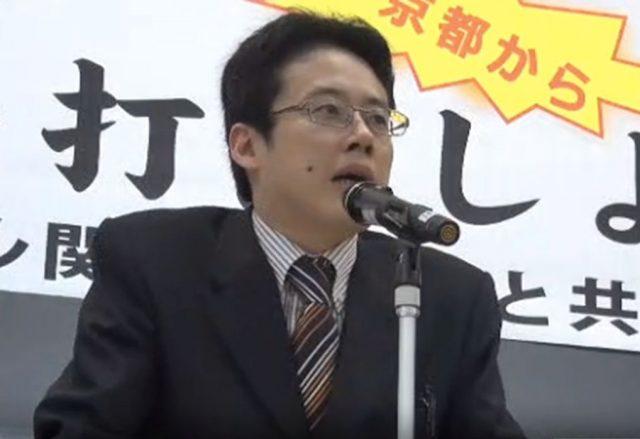 ▲京都精華大学専任講師・白井聡氏