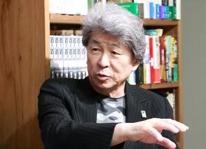 160415_岩上安身によるジャーナリスト・鳥越俊太郎氏インタビュー 第二弾