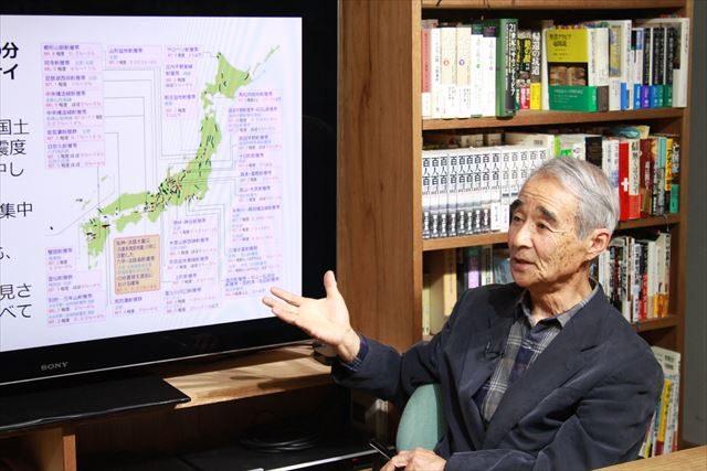 ▲わかっているだけで日本中に2000もの活断層が存在するという