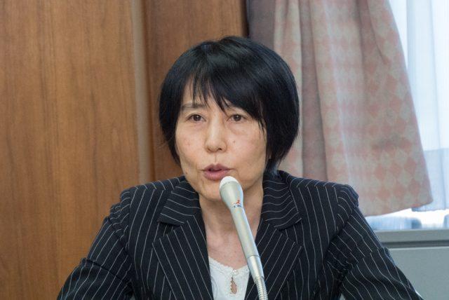 ▲弁護士・師岡康子氏