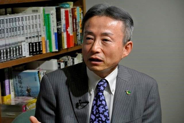 ▲島根・鳥取選挙区野党統一候補・福島浩彦氏