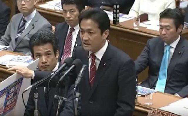 ▲民進党・玉木雄一郎議員