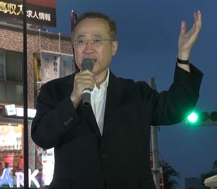 ▲民進党・有田芳生氏