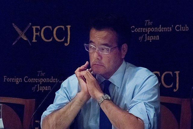 ▲ 民進党代表・岡田克也氏