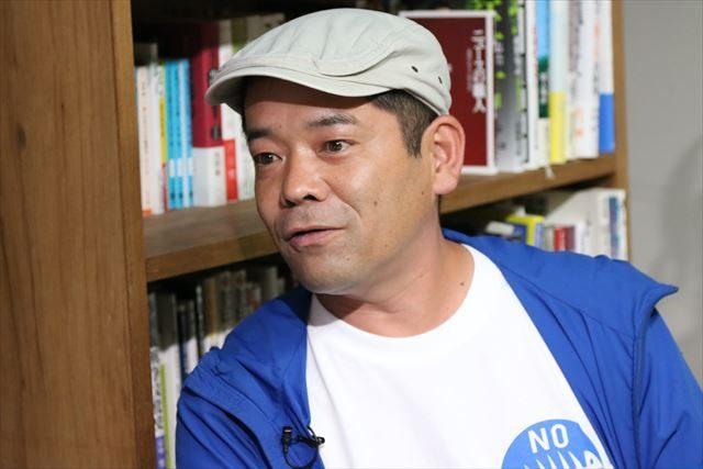 ▲東京中央市場労働組合執行委員長・中澤誠氏