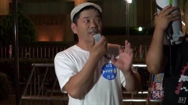 ▲中澤誠氏(東京中央市場労働組合執行委員長)