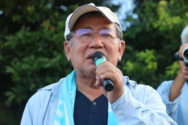▲日本共産党衆議院議員・赤嶺政賢氏