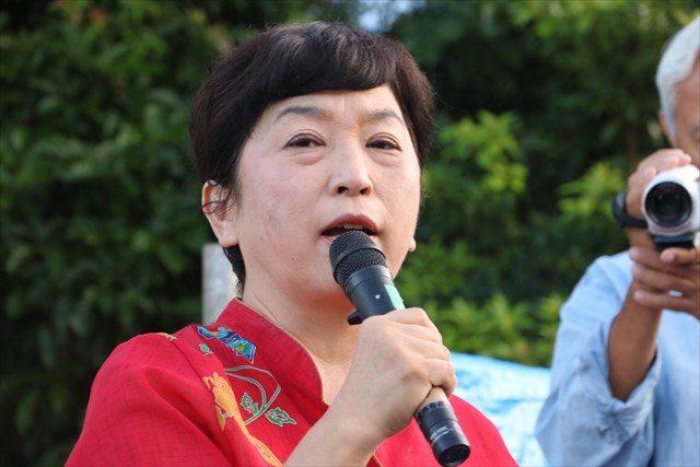 ▲社民党参議院議員・福島瑞穂氏
