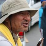▲沖縄平和運動センター・山城博治氏