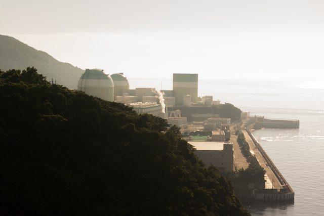 ▲原発の建つ場所には40数年前まで龍神様の祠があり、人々の暮らしがあった