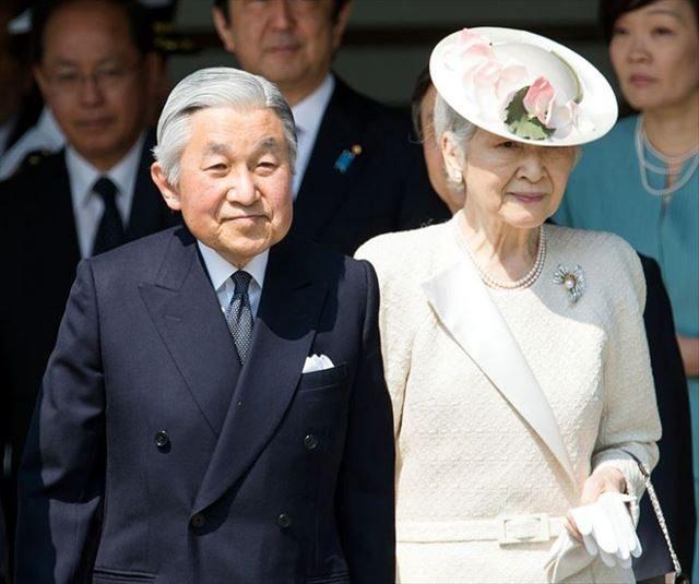 ▲天皇、皇后両陛下――2014年4月24日(Wikimedia Commonsより)