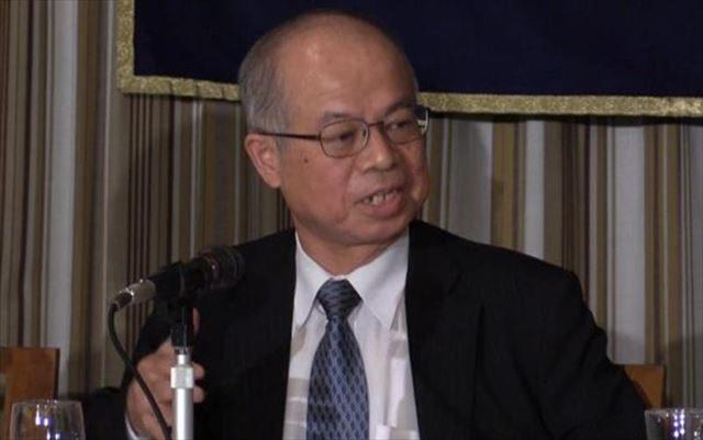 ▲百地章氏――2015年7月3日、日本外国特派員協会