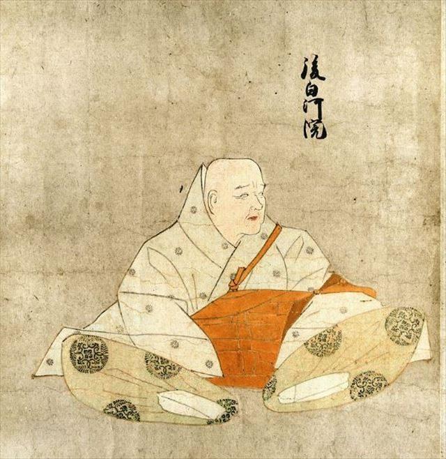 ▲後白河法皇(宮内庁蔵『天子摂関御影』より、出典:Wikipedia)