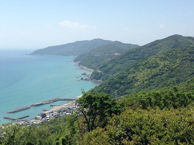 ▲「日本一細長い」佐多岬半島