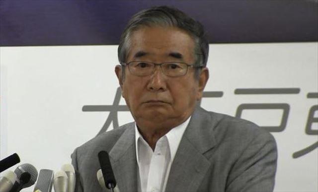 ▲石原慎太郎元東京都知事