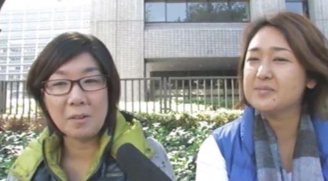 ▲福島県郡山市から自主避難した女性「放射性物質が降ってきいているのだから、『自主避難』ではありません、強制避難です」(2011年10月27日・経産省前)
