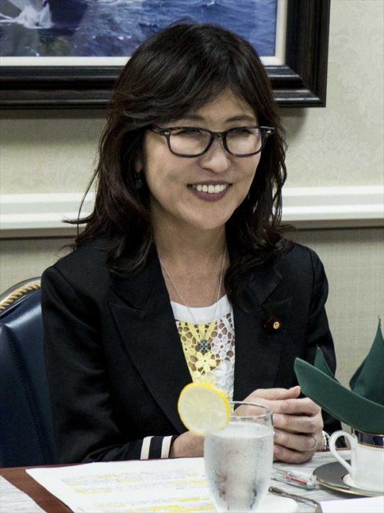 ▲稲田朋美防衛大臣(ウィキメディア・コモンズより転載)