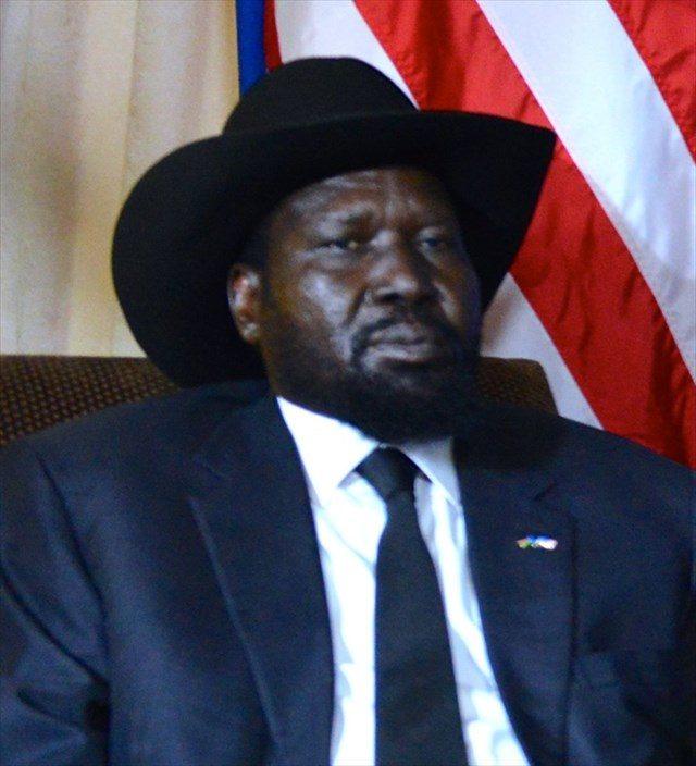 ▲サルバ・キール南スーダン大統領(ウィキメディア・コモンズより転載)