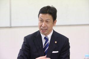 ▲新潟県知事候補・米山隆一氏(9月28日、岩上安身のインタビューで)