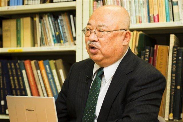▲高橋学教授(2016年4月17日、岩上安身のインタビューで)