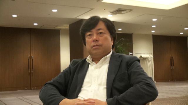 ▲新潟国際情報大学・佐々木寛教授