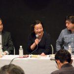 ▲左から後藤周氏、中沢けい氏、加藤直樹氏