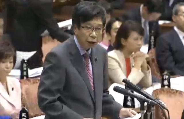 ▲日本共産党・大門実紀史議員