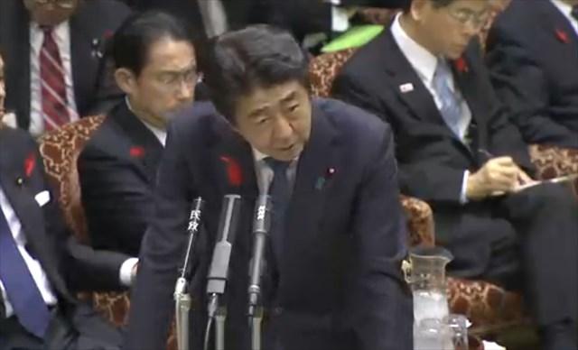 ▲安倍晋三・総理大臣