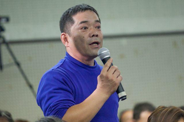 ▲東京中央市場労働組合執行委員長の中澤誠氏