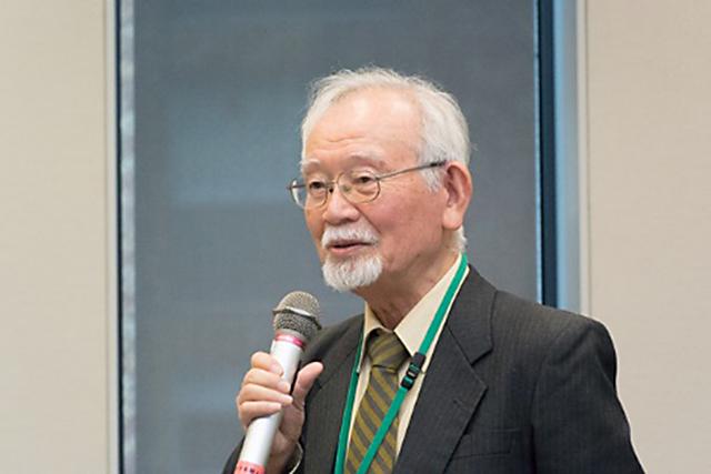 ▲村井敏邦名誉教授
