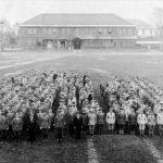 ▲大日本帝国陸軍歩兵第5連隊(現在の青森県立青森高校) 写真提供:常田健 土蔵のアトリエ美術館