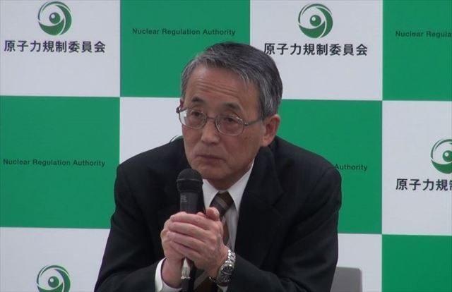 ▲原子力規制委員会・田中俊一委員長
