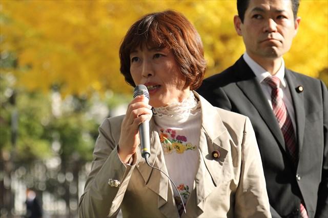 ▲日本共産党・田村智子参議院議員