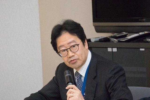 ▲原子力規制庁原子力災害対策・核物質防護課 柿崎雄司氏