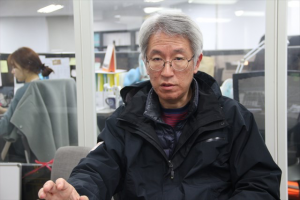 ▲ニュース打破、キム・ヨンジン代表