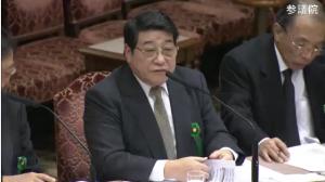 ▲北海道がんセンター名誉院長・西尾正道氏 参議院TPP特別委員会・参考人質疑の動画はこちらから