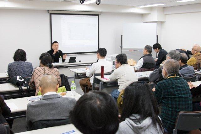 ▲山本太郎参議院議員によるライブトークの模様