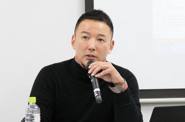 ▲自由党・山本太郎参議院議員