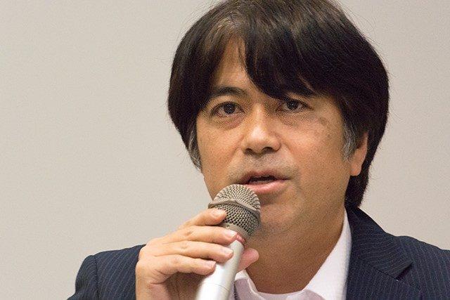 ▲琉球新報記者・新垣 毅 氏