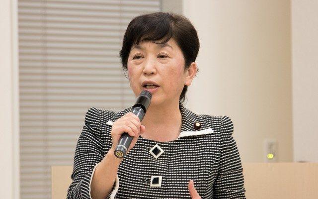 ▲社民党・福島みずほ参院議員