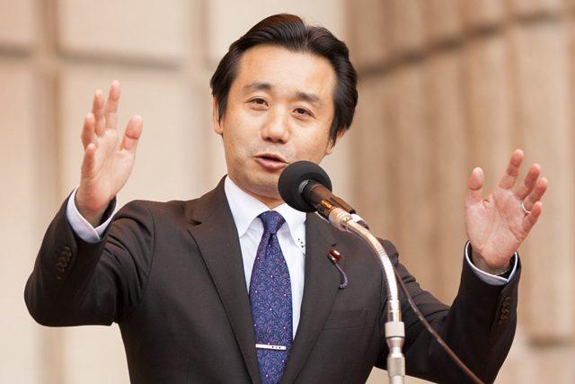 ▲民進党衆議院議員の初鹿明博氏