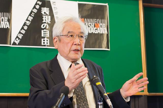 ▲原告訴訟代理人である大川隆司弁護士