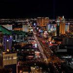 ▲数多くのカジノがあるラスベガスの夜景(Wikipediaより)