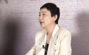 ▲のりこえねっと共同代表・辛淑玉氏(写真は2014年3月26日、岩上安身のインタビュー時に撮影)