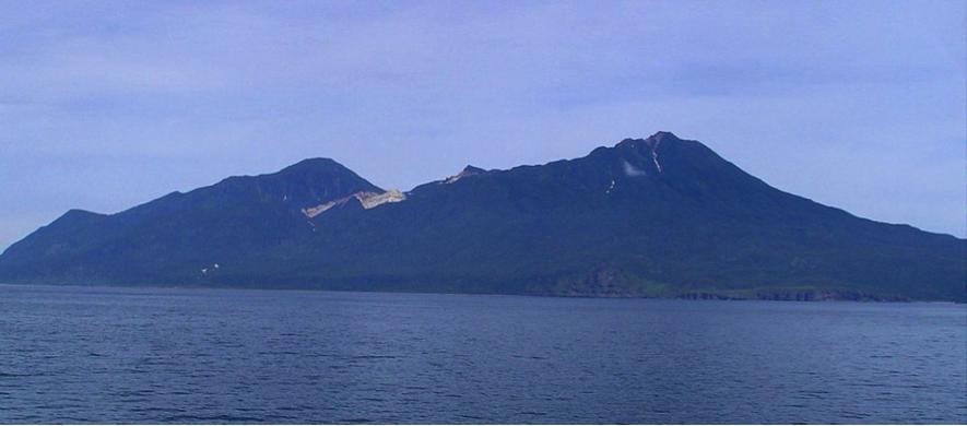 ▲択捉島(ウィキペディアより)