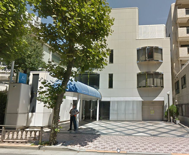 ▲東京都港区のジャニーズ事務所