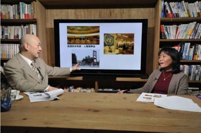 ▲(左から)岩上安身、藤田早苗氏